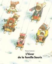 L'hiver de la famille souris - Couverture - Format classique