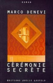 Ceremonie secrete - Couverture - Format classique