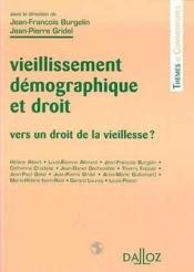 Vieillissement demogr et droit - Couverture - Format classique