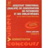 Assistant territorial qualifié de conservation du patrimoine et des bibliothèques (4e édition) - Couverture - Format classique