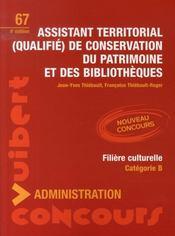 Assistant territorial qualifié de conservation du patrimoine et des bibliothèques (4e édition) - Intérieur - Format classique