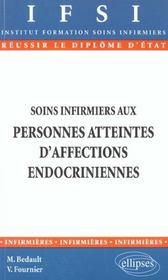 Soins Infirmiers Aux Personnes Atteintes D'Affections Endocriniennes - Intérieur - Format classique
