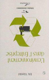 L'Environnement Dans L'Entreprise - Intérieur - Format classique