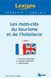 LEXIPRO ; les mots-clés du tourisme et de l'hôtellerie ; anglais - Couverture - Format classique