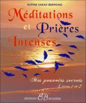 Méditations et prières intenses - Couverture - Format classique