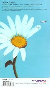 Crete 2000, Le Petit Fute - 4ème de couverture - Format classique