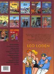 Léo loden t.12 ; tirs à vue - 4ème de couverture - Format classique