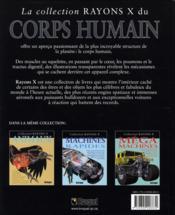 Rayons X - Corps humain - 4ème de couverture - Format classique