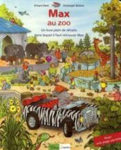 Max au zoo - Couverture - Format classique