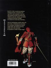 Masquerouge ; intégrale t.7 à t.10 - 4ème de couverture - Format classique
