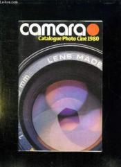 Catalogue Photo Cine 1980. Camara. - Couverture - Format classique