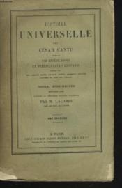 Histoire Universelle. Tome Douzieme. (Xii) - Couverture - Format classique