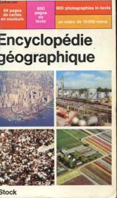 Encyclopedie Geographique - Couverture - Format classique