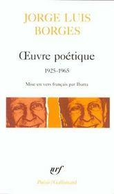 Oeuvre poetique - (1925-1965) - Intérieur - Format classique