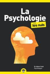 La psychologie poche pour les nuls - Couverture - Format classique