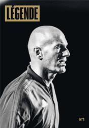Légende N.1 ; Zinédine Zidane - Couverture - Format classique