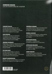 Légende N.1 ; Zinédine Zidane - 4ème de couverture - Format classique