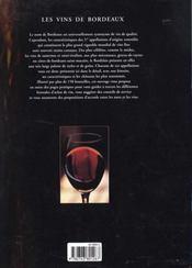 Les Vins De Bordeaux - 4ème de couverture - Format classique