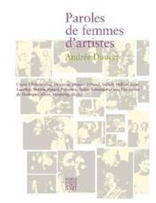 Paroles de femmes d'artistes - Couverture - Format classique