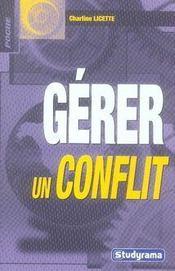Gérer un conflit - Intérieur - Format classique