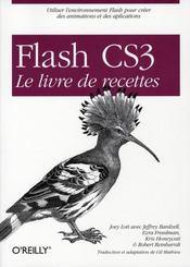 Flash CS3, le livre de recettes - Intérieur - Format classique