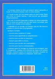 S'Epanouir En Integrant La Pratique Spirituelle Au Travail - 4ème de couverture - Format classique