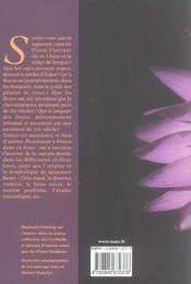 Paroles De Fleurs - 4ème de couverture - Format classique