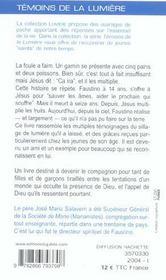 Les Pains Et Les Poissons De Faustino - 4ème de couverture - Format classique