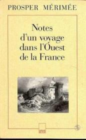 Notes d'un voyage dans l'ouest de la - Couverture - Format classique