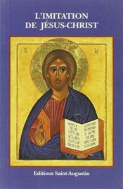 L'imitation de Jésus-Christ - Couverture - Format classique