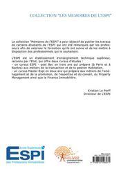 Marché hôtelier ; analyse et estimation - 4ème de couverture - Format classique