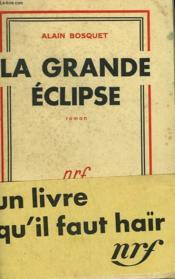 La Grande Eclipse. - Couverture - Format classique
