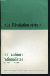 LES CAHIERS RATIONALISTES n° 292 : La révolution verte - Couverture - Format classique