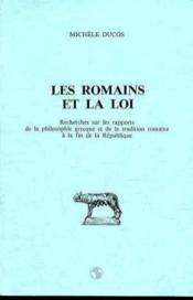 Romains Et La Loi (Les) - Couverture - Format classique