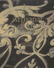 Le grand artisanat d'art français - Intérieur - Format classique