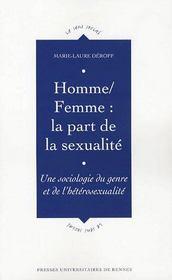 Homme, femme : la part de la sexualité - Intérieur - Format classique