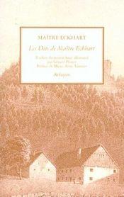 Dits De Maitre Eckhart (Les) - Intérieur - Format classique