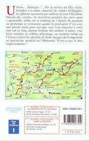 Sentier De Saint-Jacques ; Figeac Moissac Gr65 - 4ème de couverture - Format classique