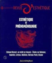 REVUE D'ESTHETIQUE N.36 ; esthétique et phénoménologie - Couverture - Format classique
