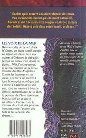 Pierre de tu-hadj 2 (la) - voix de la mer (les) - 4ème de couverture - Format classique