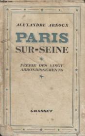 Paris Sur Seine. - Couverture - Format classique