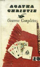 Oeuvres Completes, 13 - Couverture - Format classique