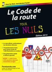 Code de la route pour les nuls (édition 2014) - Couverture - Format classique