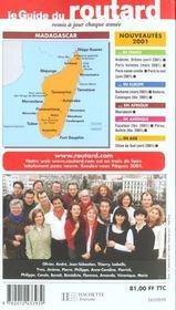 Guide Du Routard T.2002 - 4ème de couverture - Format classique