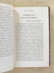 Théologie du catéchiste , doctrine et vie chrétienne - Tome premier. - Couverture - Format classique
