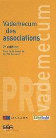 VADEMECUM ; vademecum des associations (2e édition) - Intérieur - Format classique