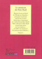 Le manteau du pere noel - 4ème de couverture - Format classique