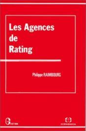 Les agences de rating - Couverture - Format classique