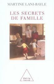 Les secrets de famille - Intérieur - Format classique