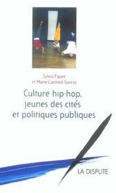 Culture Hip Hop, Jeunes Des Cites Et Politiques Publiques - Intérieur - Format classique